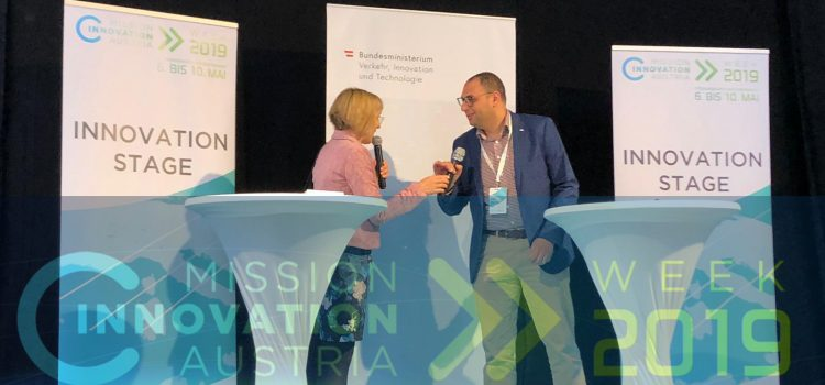 PANTERA's participation in Mission Innovation Austria 2019