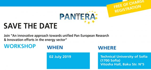"PANTERA Workshop ""Pan European Research and Innovation activities for smart grids, energy storage and local energy systems"""