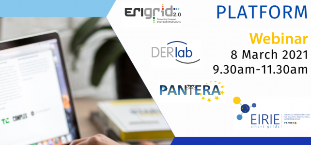 "Don't miss the upcoming webinar ""Remote Testing & EIRIE Platform"""