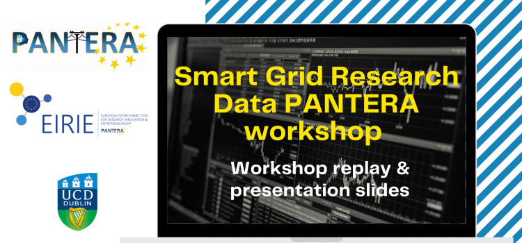 Smart Grid Research Data PANTERA workshop available on-demand