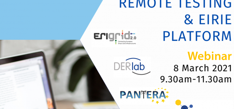 "Watch the ""Remote Testing & EIRIE Platform"" Webinar"