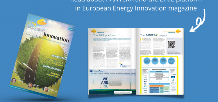 EIRIE platform in the summer edition of European Energy Innovation magazine