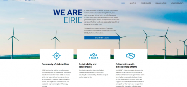 The EIRIE platform is live