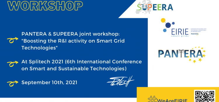 Don't miss PANTERA and SUPEERA joint workshop at Splitech conference